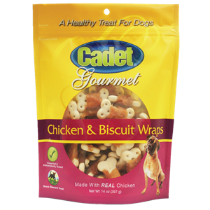 chicken treats for dogs, chicken biscuits for dogs, low fat chicken treats, low-fat dog treats, gourmet dog treats, premium dog treats, premium chicken treats, cadet pet